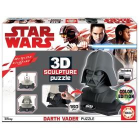Puzzle 3D Escultura Darth Vader - Educa