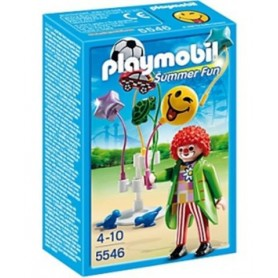 "PLAYMOBIL - Vendedor de Balões ""SmileyWorld"" 4-10"