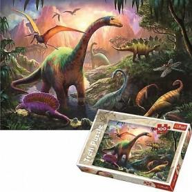 Puzzle 100 peças Dinossauros - Trefl