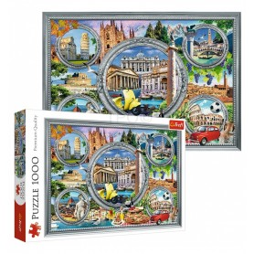 Puzzle 1000 peças Monumentos Italianos - Trefl