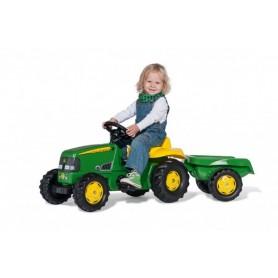 Tractor com Atrelado Jonh Deer - Rolly Toys