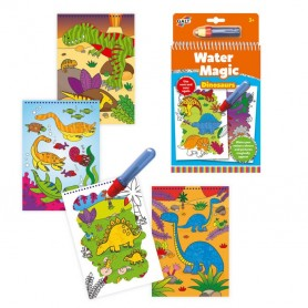 Livro para Pintar Water Magic Dinossauros - Galt