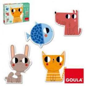 Puzzle Progressivo Form Animais - Goula