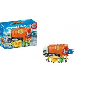 Playmobil City Life: Camião Reciclagem 4+