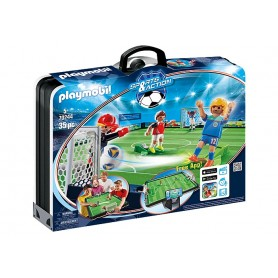 Playmobil Sports & Action: Maleta Mundo de Futebol 5+
