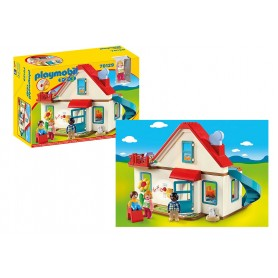 Playmobil 1.2.3: Casa de Família 1 1/2+