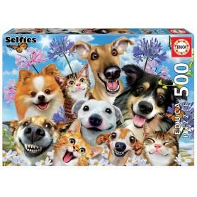 Puzzle 500 peças Selfie - Educa