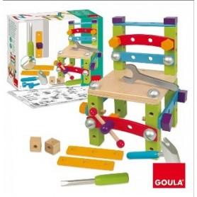 Set de Construção em Madeira - Goula