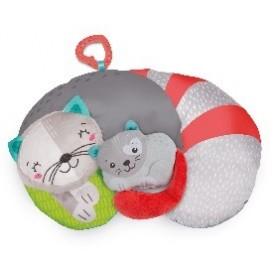 Almofada Tummy Time Kitty Cat - Baby Clementoni
