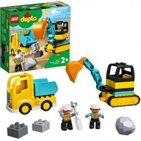 Lego Duplo: Camião e Escavadora 2+