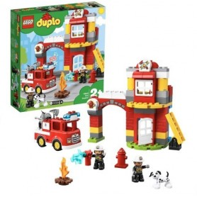 Lego Duplo: Quartel dos Bombeiros 2+