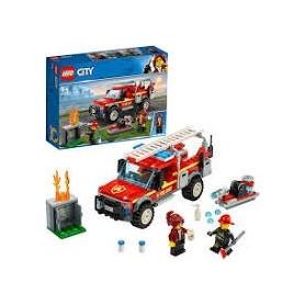 Lego City: Camião da Comandante dos Bombeiros 5+