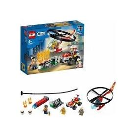 Lego City: Helicóptero de Combate aos Incêndios 5+