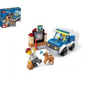 Lego City: Unidade De Cães Policias 4+