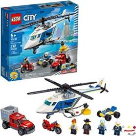 Lego City: Helicóptero de Perseguição da Policia 5+