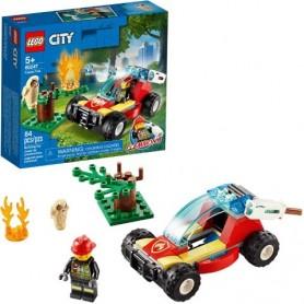 Lego City: Carro de combate ao Fogo Florestal 5+