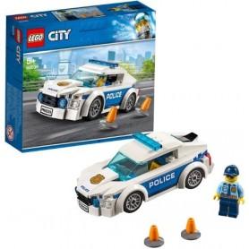 Lego City: Carro de Patrulha Policia 5+