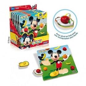 Puzzle de Encaixe Mickey Diset