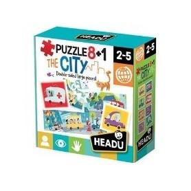 Puzzle 8+1 A Cidade - Headu