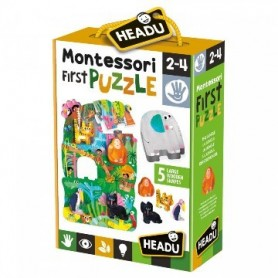 Montessori O Meu Primeiro Puzzle Selva - Headu