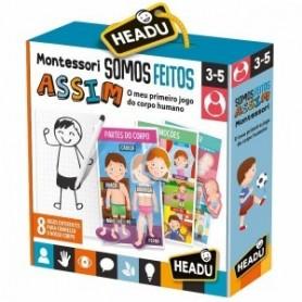 Jogo Somos Feitos Assim Montessori - Headu