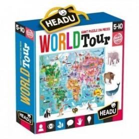 Puzzle Gigante Volta ao Mundo - Headu