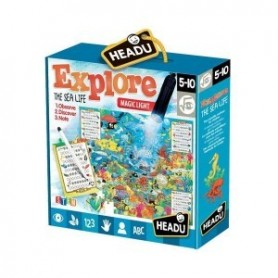 Puzzle Explorer Vida Marinha - Headu