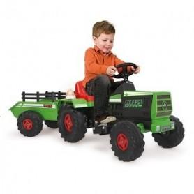 Tractor Basic com atrelado 6V - Injusa