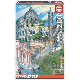 Puzzle Cidades: Roma - Educa