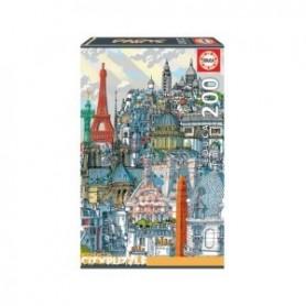 Puzzle Cidades: Paris - Educa