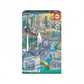 Puzzle Cidades: Berlim - Educa
