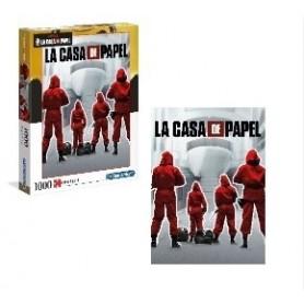 Puzzle 1000 peças La Casa de Papel - Clementoni