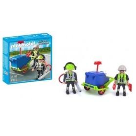 Playmobil City Action: Equipa de Limpeza 4-10