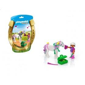 Playmobil Country: Saqueta com Criança e Cavalo 4-10