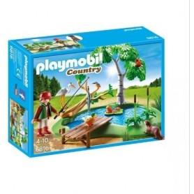 Playmobil Country: Lagoa com Animais 4-10