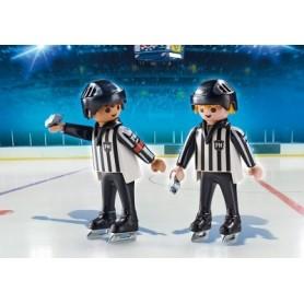 Playmobil Sports & Action: Árbitros Hóquei 5+