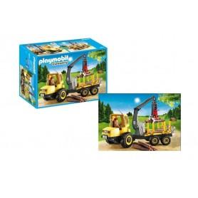 Playmobil Country: Camião de transporte de madeira 4-10