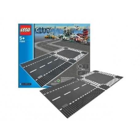 Lego City - Retas e Cruzamentos 5+