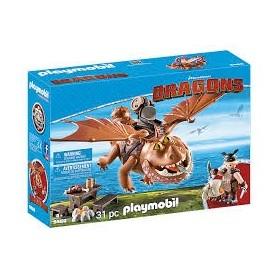 Playmobil Dragons - Molenga e Perna de Peixe  4+