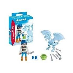 Playmobil Special Plus - Escultor de gelo   4-10